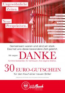 30 Euro Gutschein im Mai und Juni